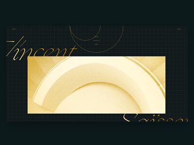 Portfolio - Ludmilla Maury layout grid animation web ui branding website webdesign design art direction