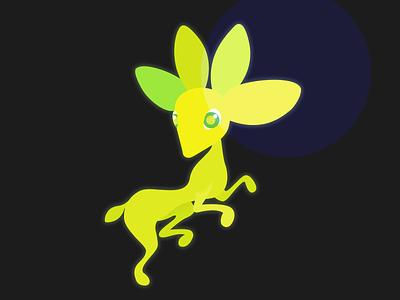 NVIDIA Studio unofficial mascot challenge green challenge nvidia alebrije illustration