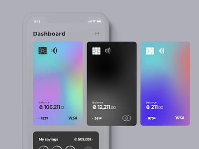 Mobile Banking App Concept mobile app design inspiration mobile app mobile interaction concept animation ui ios fintech app fintech finance app finance banking app banking bank app design app