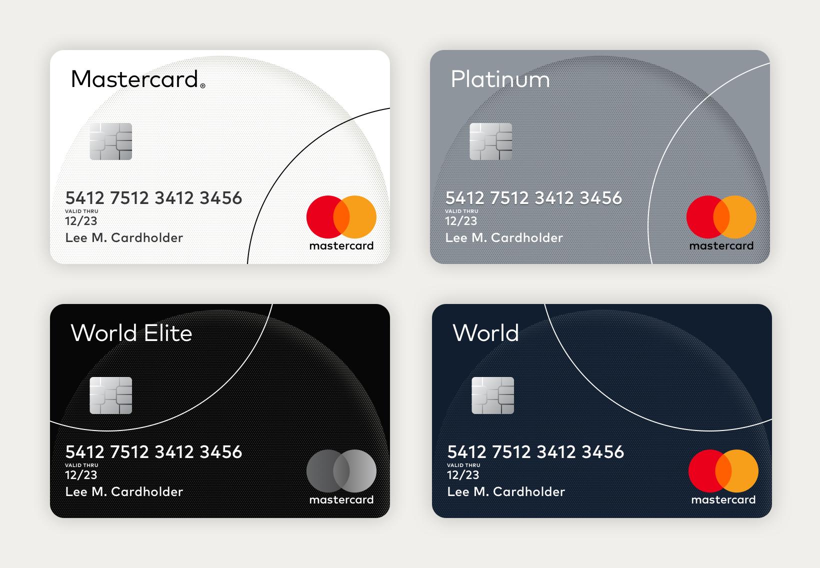 Mastercard cards 2x