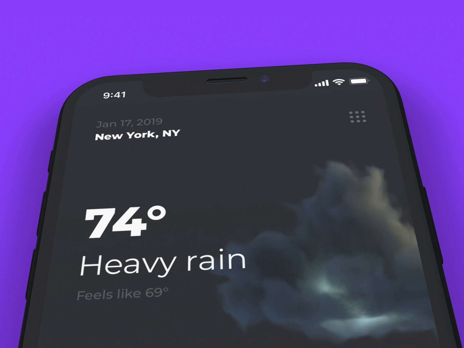 Weather dribbble 05 1