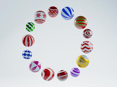 Orange Digital Logo - Christmas Edition design cinema 4d logo branding christmas