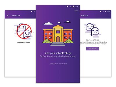 Pulse app pulse friends blocked college school