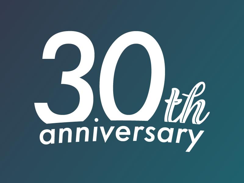 Kwc 30th anniversary logo