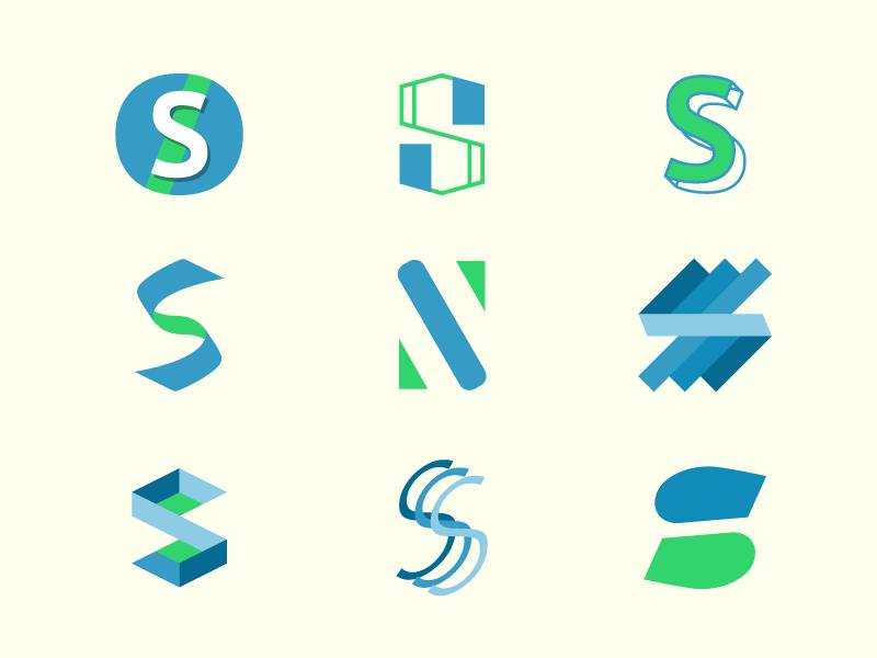 S Logo Idea logo
