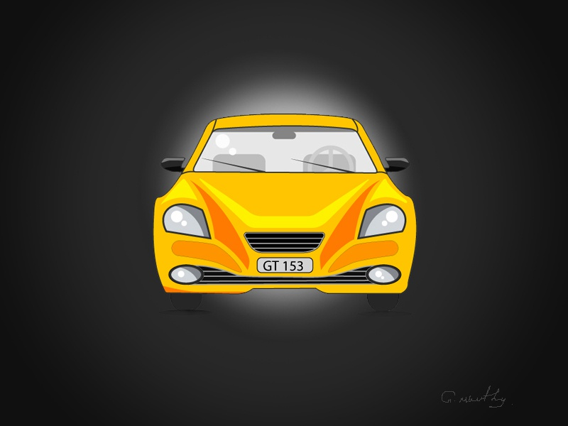 Car Front By Moorthy Ganesan On Dribbble