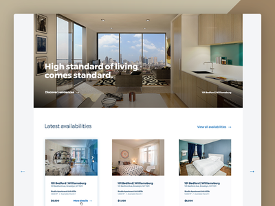 Real Estate Consultancy website interface website ux ui crm agency consultancy real estate