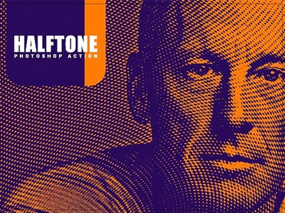 Halftone Photoshop Action photoshop action photoshop photography photo effects photo image effects halftone effect halftone action halftone effect color halftone action