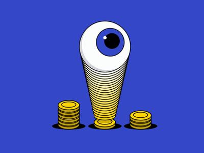 effective audience reach clicks money effective facebook ad ppc reach audience marketing funny digital marketing vector illustration
