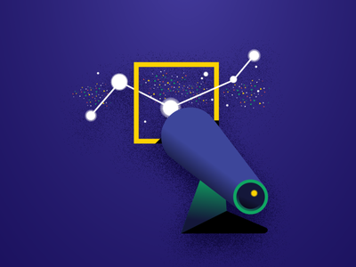 choosing platform for your ads social media telescope choose search stars blog digital marketing marketing advertising vector illustration