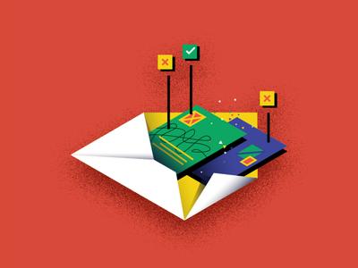 email audit email marketing email audit branding digital marketing marketing advertising vector illustration