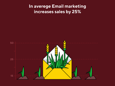 email marketing growth sales email marketing email digital marketing marketing advertising vector illustration