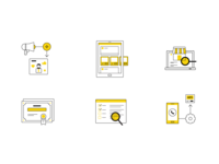 Marketing Services Icons