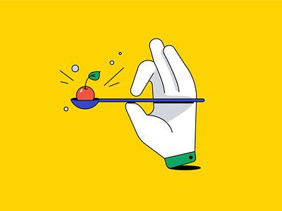 seo optimization search result search engine optimization search hand branding advertising vector illustration