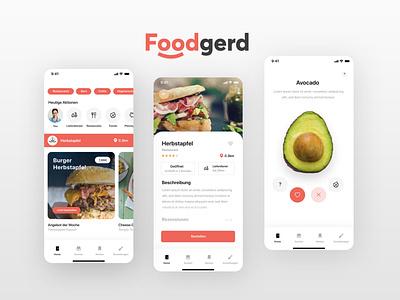 Foodgerd Foodguide App gastronomy gastro guide finder restaurant mobile food app