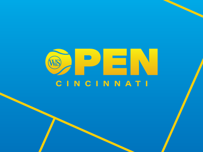 Western & Southern Open Rebrand court us open ohio cincinnati sports branding tennis