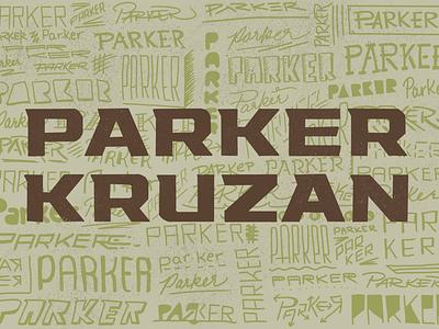 Parker Kruzan Announcement park type procreate announcement baby