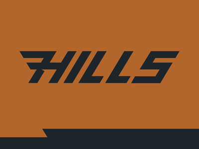 7Hills Outfitters Wordmark trails cut burnt orange brand outdoors cincinnati outfitters hills