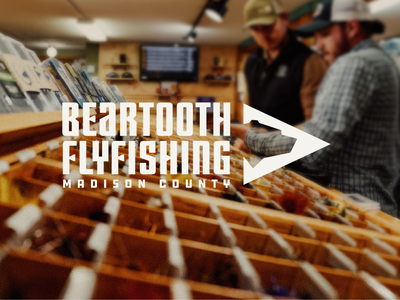 Beartooth Fly Fishing nature outfitter arrow tooth bear brand outdoors montana fishing fly fishing