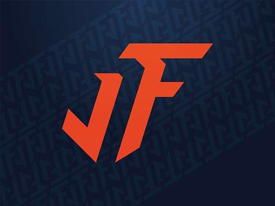 Justin Fields Logo pattern football sports mongram chicago tribal fields crest brand athlete