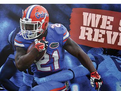 Florida Gator Football Poster