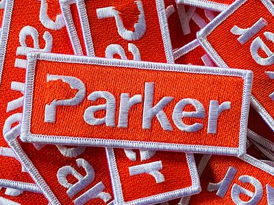 Parker Patch announcement birth kid orange bear parker patch