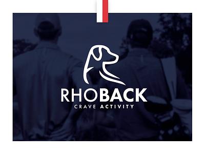 Rhoback REBRAND Concept brand animal crest clothes mens apparel dog concept rebrand