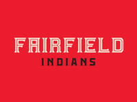 Fairfield Indians Wordmark
