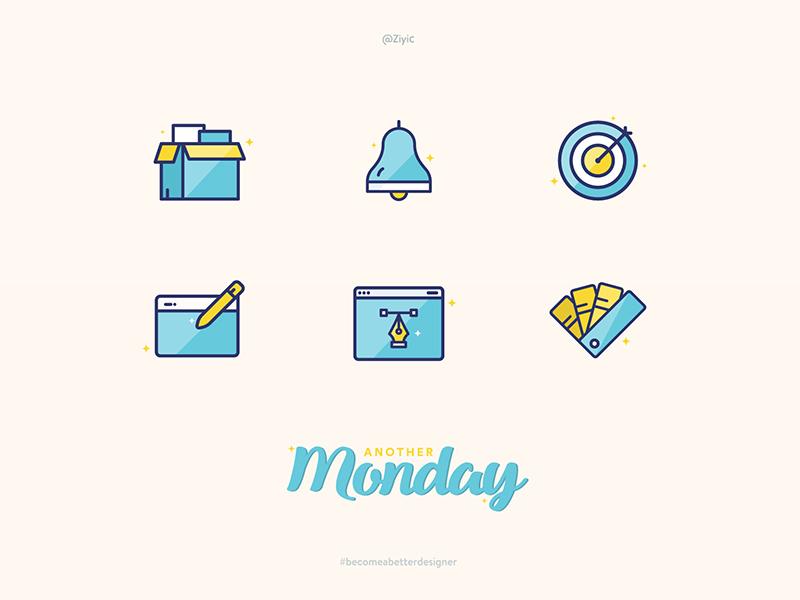 Designer Daily Job Icon icon