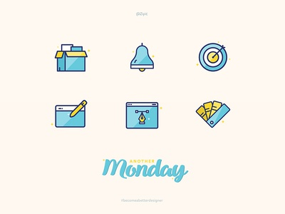 Designer Daily Job Icon