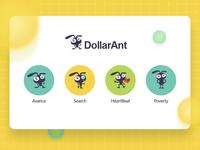 Dollarant网站吉祥物