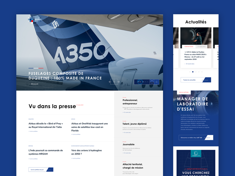 Aerospace Website