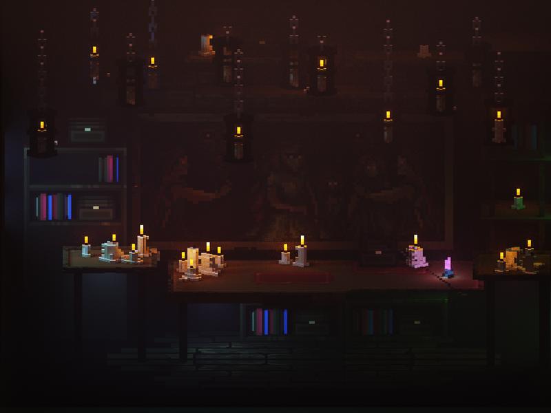 Magical desk