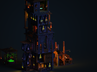 Victorian tower