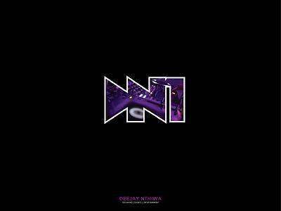 Dj Nthi1 music party entertainment events logomark logo identity corporate business deejay