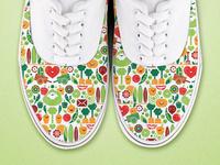 Sneakerly Vegetables