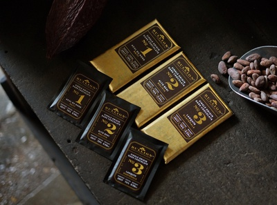 Bullion bars and mini bars - chocolate packaging