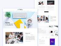 Tech Company web design