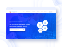 Consumer Safety Guide Website Concept