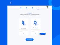 New App Process for Marketing Web app