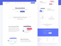 DeveloperHub Documentation page Visual Design