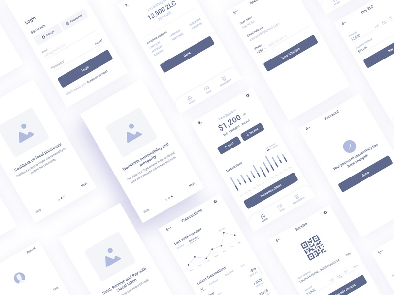 2local App redesign Wireframes prototyping ideation ux research research user centered wireframe design wireframing ux design ux ui design user interface application android ios app user experience ux prototype low fidelity wireframes wireframe