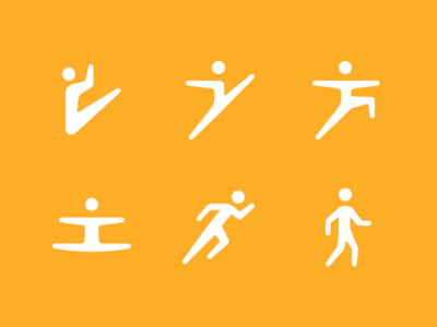 Fitness Icons   Dribbble