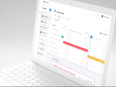 Qwick Platform - Sneak Peek interaction project management education milestones task management desktop dashboard web app ui