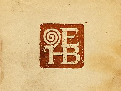 Erin H. Banks - Letter Stamp logo branding stamp texture writer poet