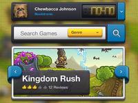 Game Store - Chunky UI