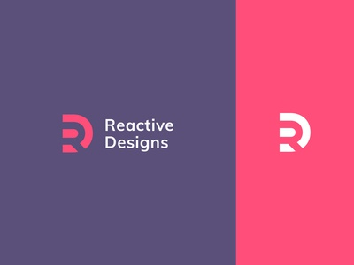 Reactive Designs Logo Design