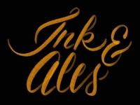 Ink & Ales Lettering Practice