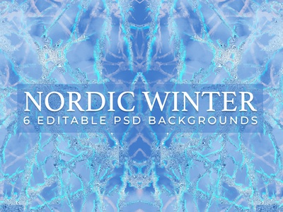 Nordic Winter Backgrounds frostbite electric blue backgrounds frosty frosty blue winter nordic