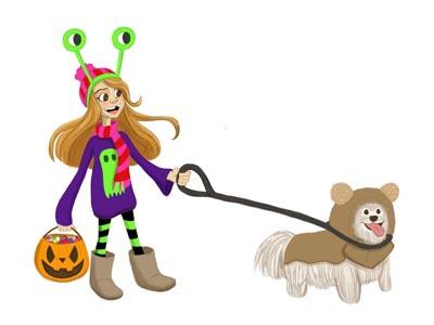 Character Design - Halloween Girl